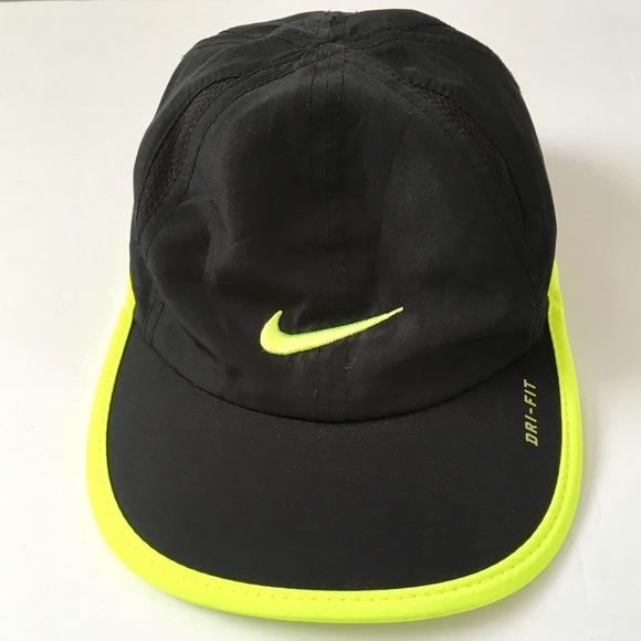 685843c65 Nike Women Dri-Fit Black Volt Adjustable Hat Cap